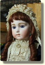 23 inch Jumeau Triste with antique eyes- Bebes by Sayuri