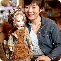 Sayuri Sinn, the creator and owner of Bebes by Sayuri - One of A Kind